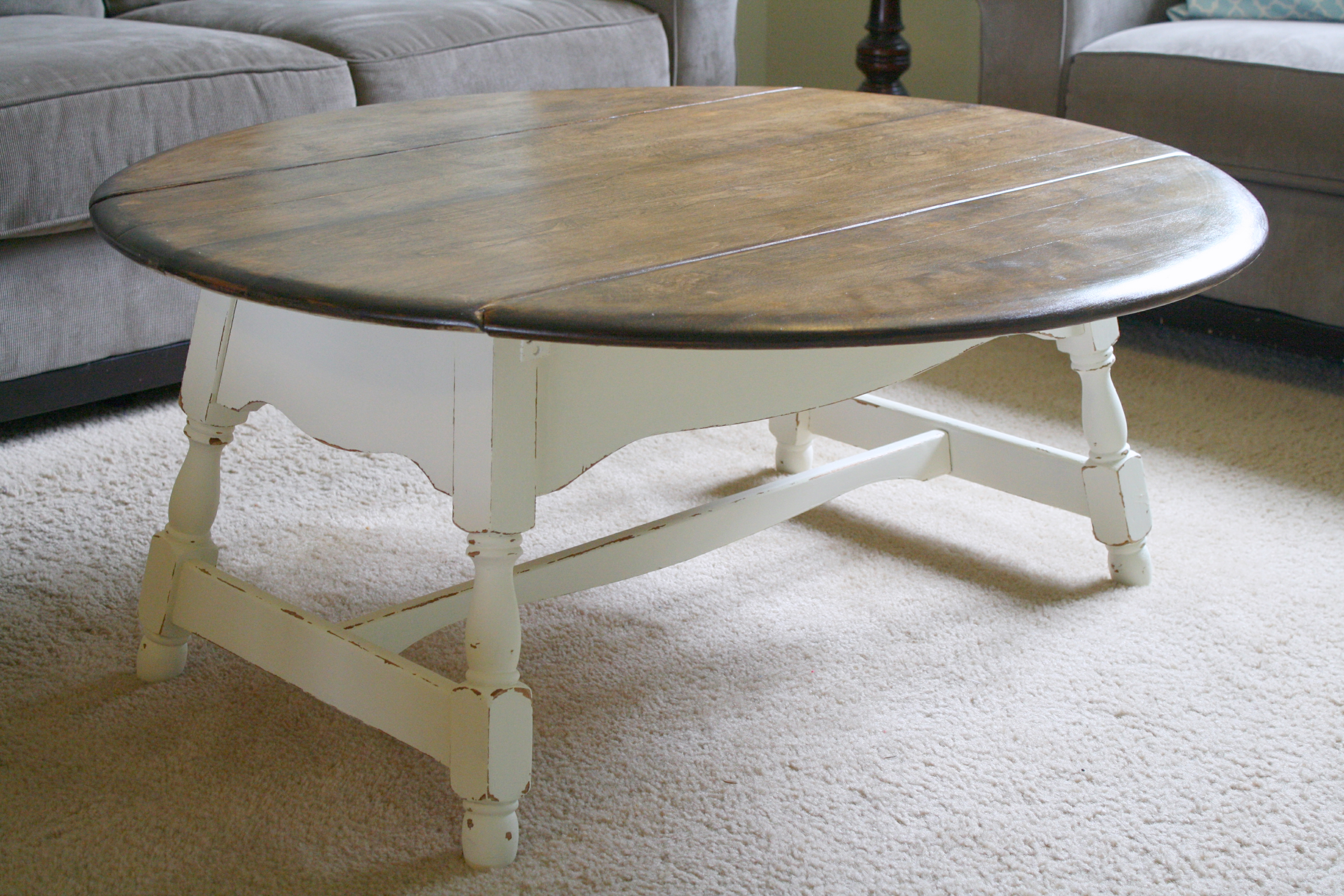 Drop Leaf Farmhouse Coffee Table