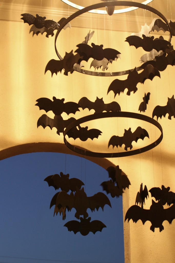 Spooky Bat Chandelier