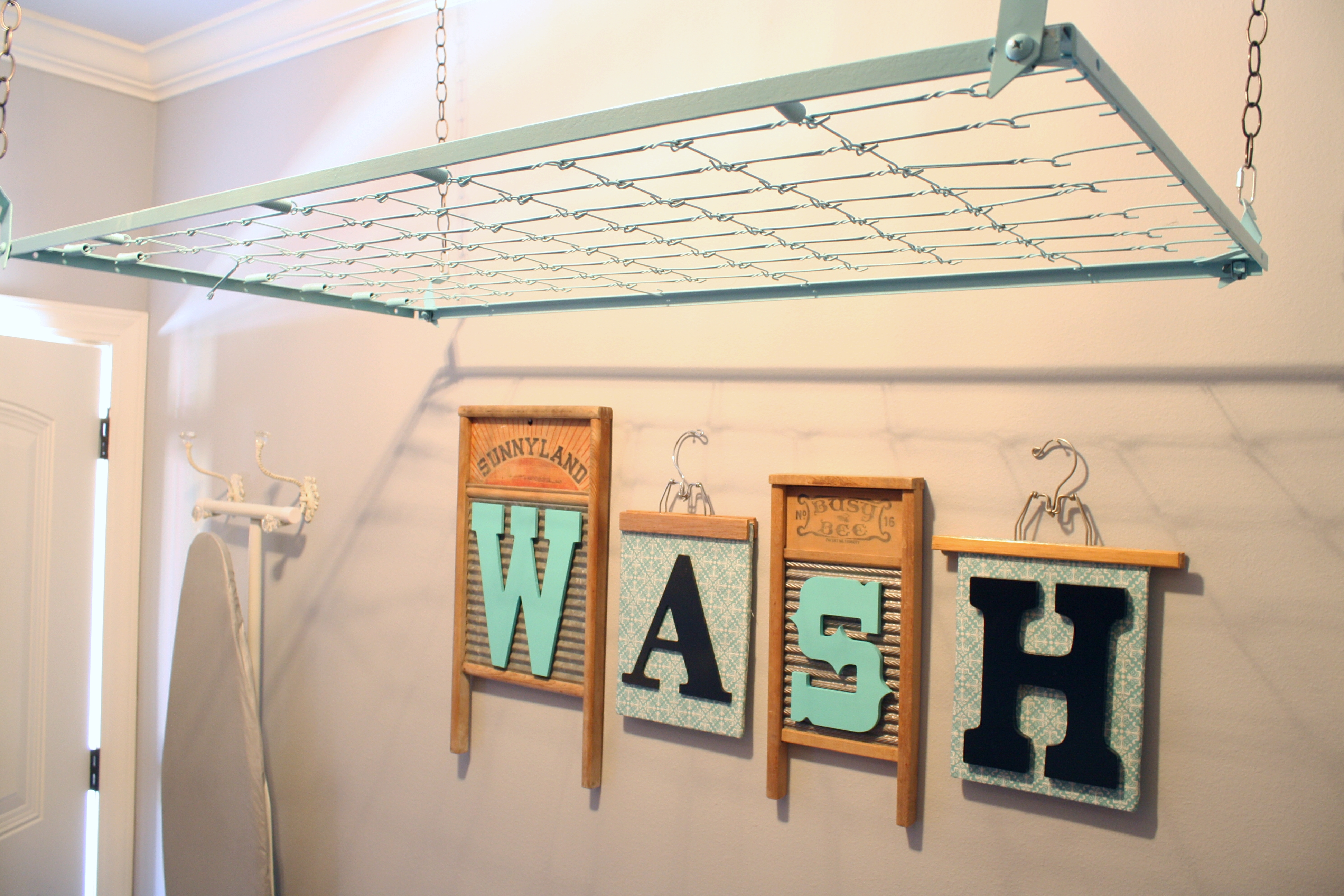 Laundry Room Hanging Rack Decoration News