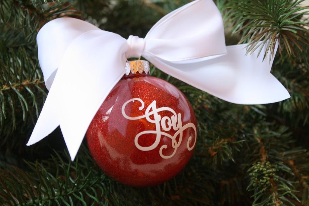 DIY Glittered Ornaments