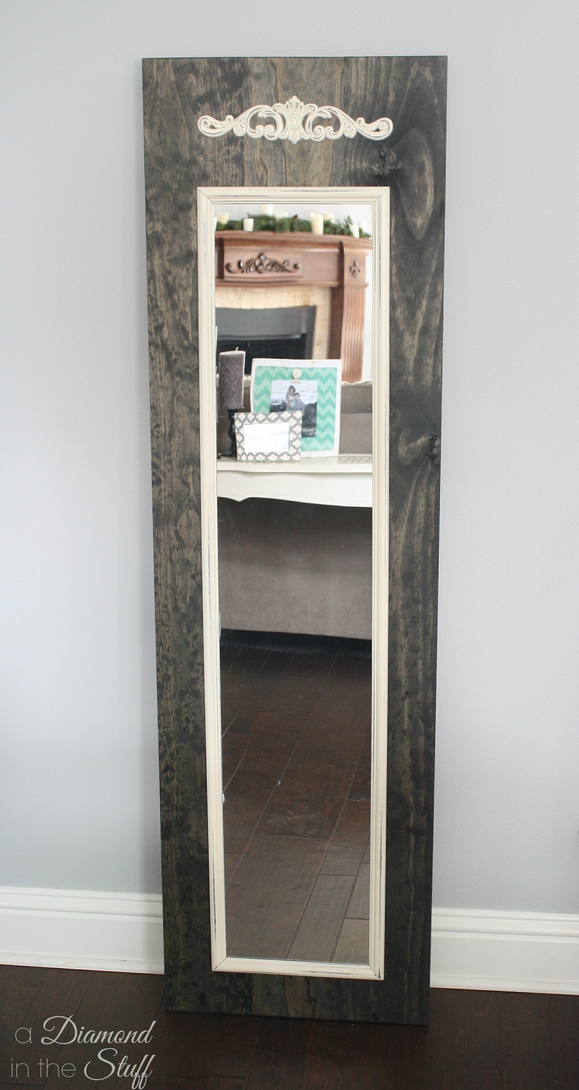 Full Length Mirror Makeover