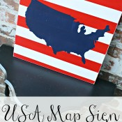 USA Map Sign @ A Diamond in the Stuff