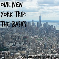 Our Trip to New York {The Basics}