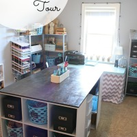 My Craft Room Tour
