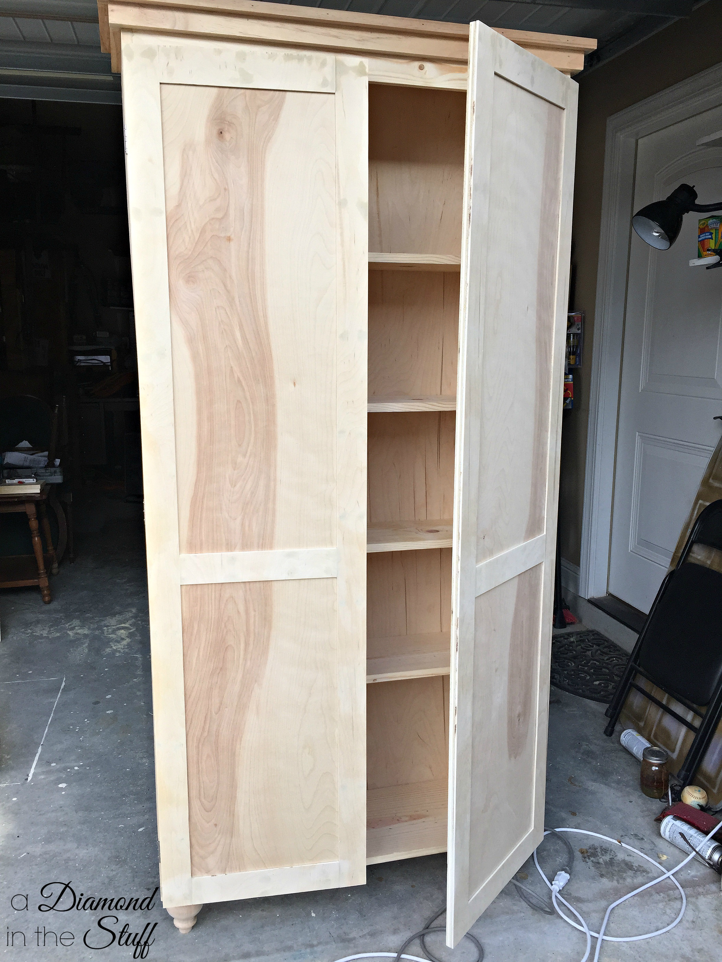 Build A Storage Cabinet With Doors