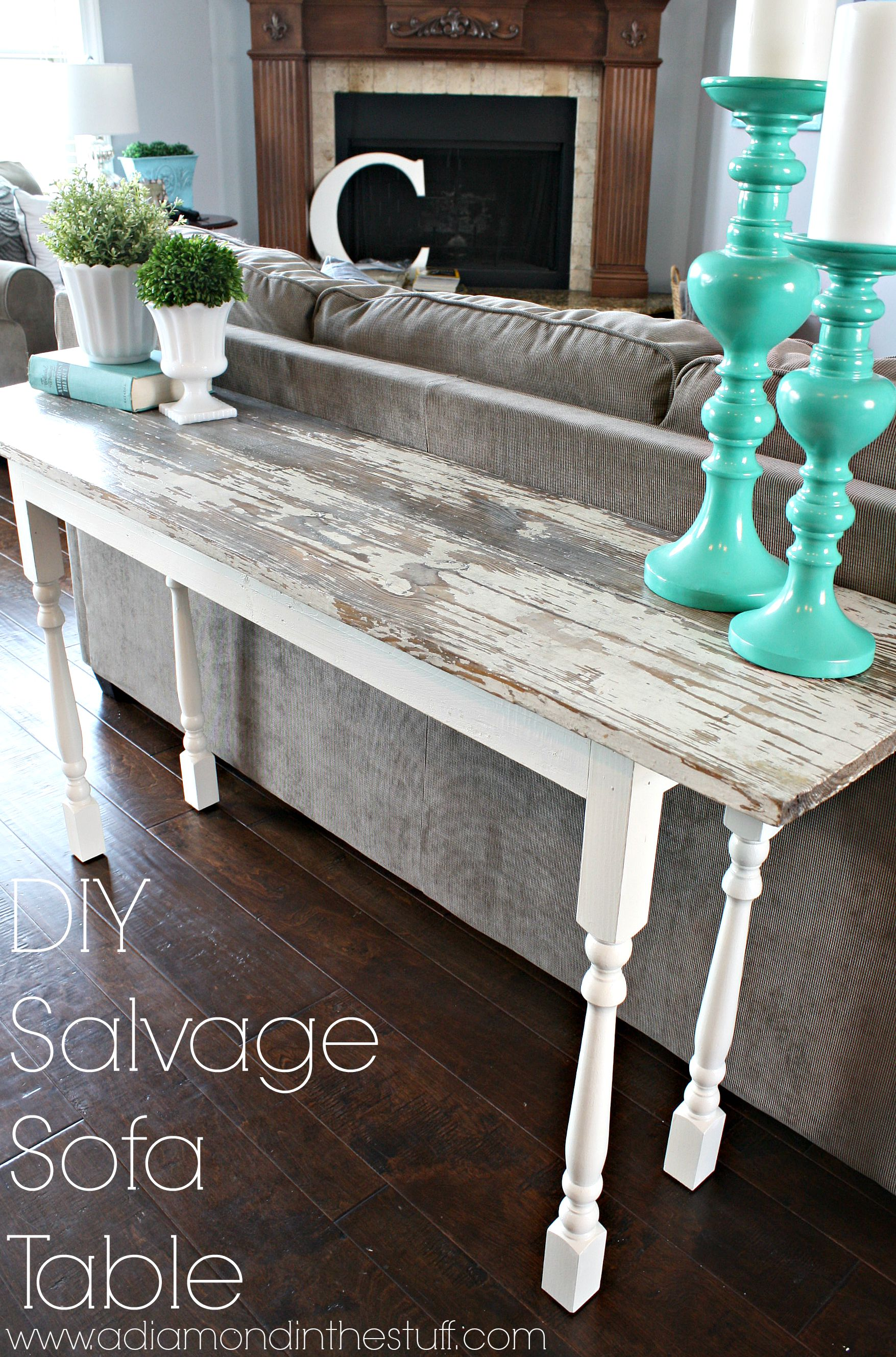 Groovy Diy Salvage Sofa Table Gmtry Best Dining Table And Chair Ideas Images Gmtryco