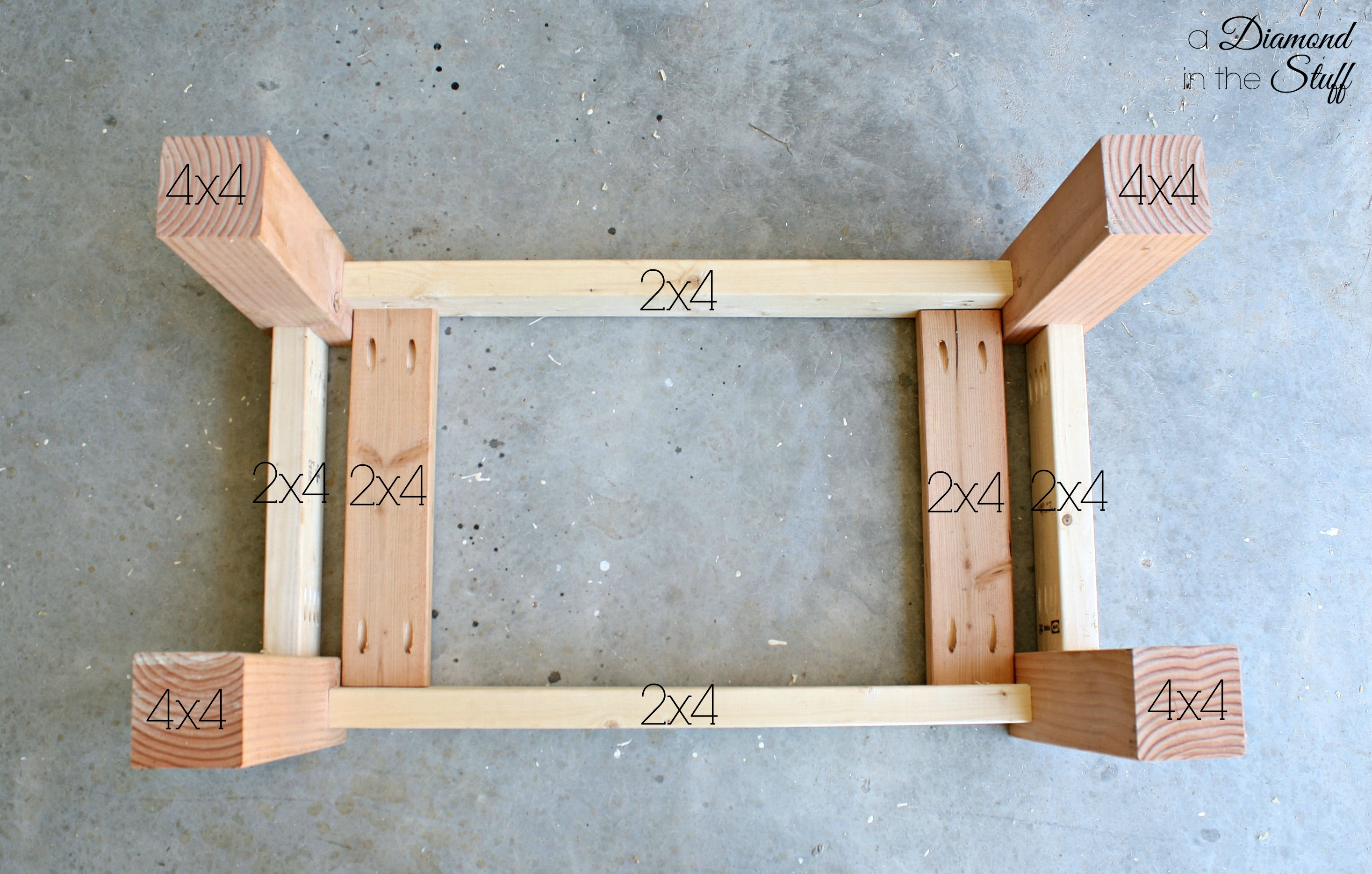 tamon: here diy outdoor wood coffee table Wooden Coffee Table Plans